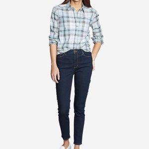 Eddie Bauer High rise - Slim Jeans -slightly Curvy